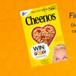 Free Code EllenTube.com/Cheerios Sweepstakes