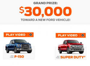 fordeventsweepstakes
