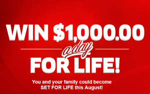 Publishers Clearing House $1000 A-Day-For-Life