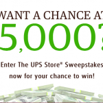 Win $5,000 The UPS Store 2017 Sweepstakes (No Purchase Required)