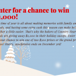 Win $1,000 in Country Hearth Home for the Holidays Sweepstakes