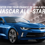 Win a 2018 Chevy Camaro Coupe in GM Camaro NASCAR All-Star Sweepstakes