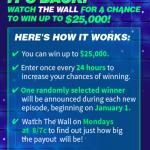 Enter NBC The Wall Sweepstakes