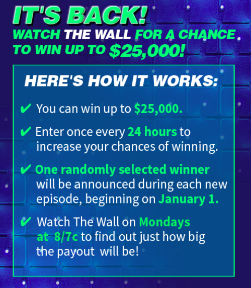 Enter NBC The Wall Sweepstakes