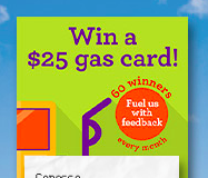 Enter Phillips66 GasVisit.com Gift Card Survey Sweepstakes