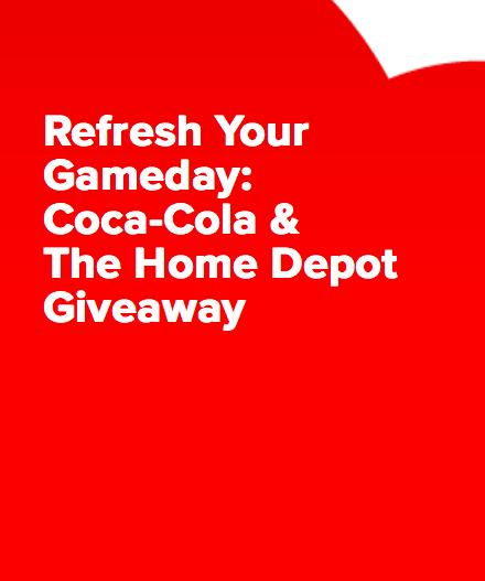 Enter CokePlaytoWin.com/HomeDepot $3,000 Gift Card Sweepstakes