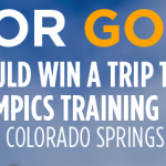 Enter Code GoldenCorral.com/Coke to Win a Trip to the Olympics Center
