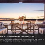 Enter HGTV.com/DreamHome2018 Sweepstakes