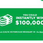 Win $100,000 Sprite.com/Popeyes 2018 100 Grand in Your Hand Sweepstakes