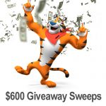 $600 Kellogg's Family Rewards Giveaway Sweepstakes