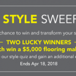 Lumber Liquidators Spring Style $5,000 Floor Make Over Sweepstakes