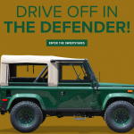 Enter to Win a Land Rover Defender 90 in Orvis Land Rover Sweepstakes