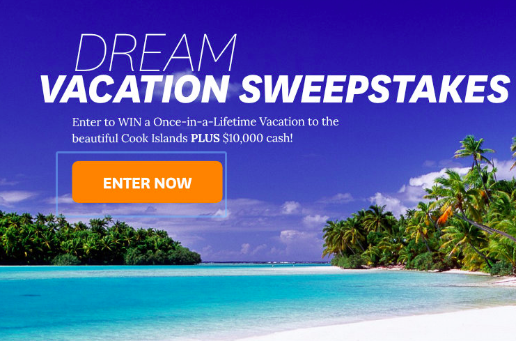 Win a Trip to the Cook Islands in Martha Stewart Dream Vacation Sweepstakes