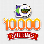 Enter to Win $5000 in March Frozen Food Month Sweepstakes