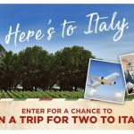 Win a Trip for 2 to Italy – Cavit Here's to Italy Contest