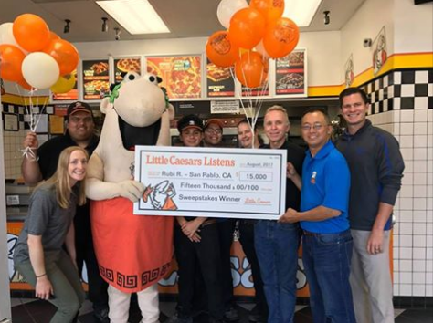 Enter to Win $15,000 in Little Caesars Listens Rewards Sweepstakes