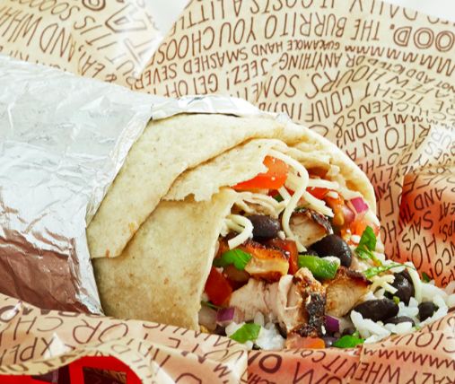 Chipotle Feedback Free Burritos For a Year Sweepstakes
