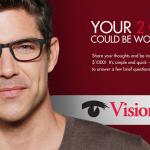 Enter EyewearSurvey Sweepstakes to Win $1,000