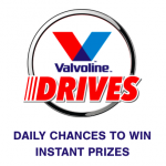Valvoline Drives Keyword Instant Win Game