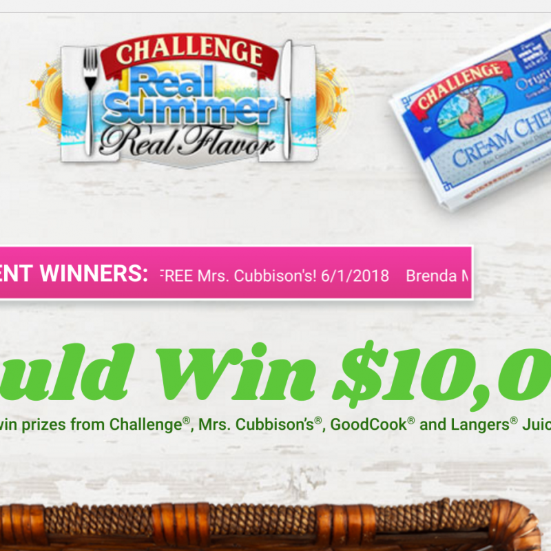 Enter to Win $10,000 in Real Summer, Real Flavor Sweepstakes