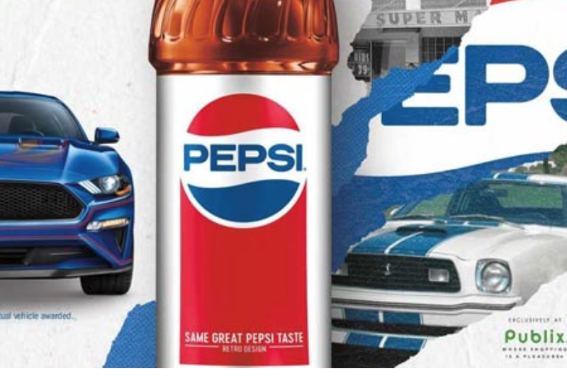 Enter Pepsi Mustang Sweepstakes at Publix (Recommended)