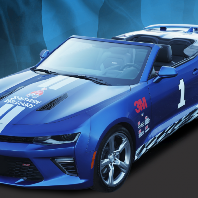 ScotchBlue 3M Pro Painter Tape 2018 Chevrolet Camaro Sweepstakes