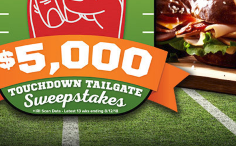 Win $5,000 in the Prime Fresh Tailgate Sweepstakes