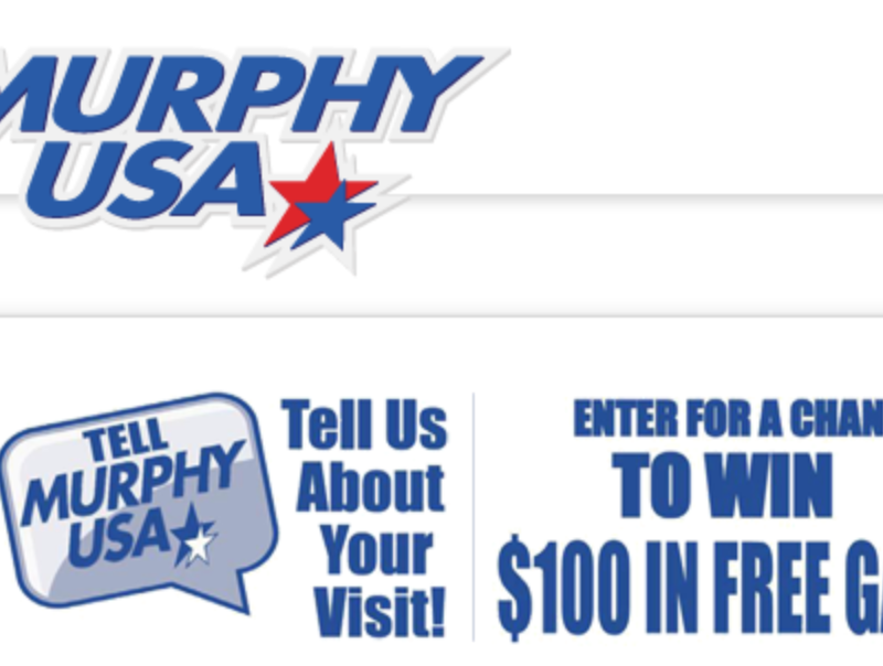 TellMurphyUSA Win $100 Murphy USA Gas Card Sweepstakes